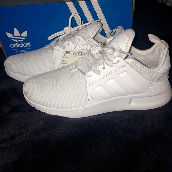 5a65087e792 Adidas X PLR J white